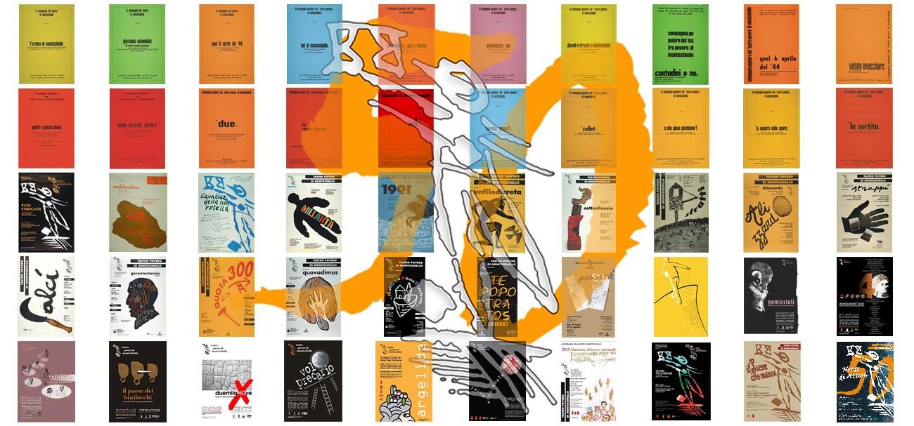 Collage Manifesti 1967 - 2015